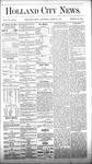 Holland City News, Volume 6, Number 10: April 21, 1877