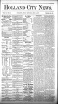 Holland City News, Volume 6, Number 12: May 5, 1877