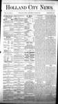 Holland City News, Volume 6, Number 15: May 26, 1877