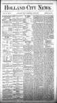 Holland City News, Volume 6, Number 17: June 9, 1877