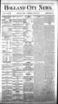Holland City News, Volume 6, Number 20: June 30, 1877