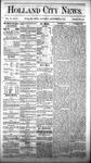 Holland City News, Volume 6, Number 31: September 15, 1877 by Holland City News