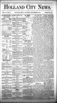 Holland City News, Volume 6, Number 33: September 29, 1877