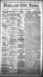 Holland City News, Volume 6, Number 38: November 3, 1877 by Holland City News