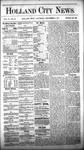 Holland City News, Volume 6, Number 43: December 8, 1877