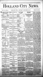 Holland City News, Volume 6, Number 45: December 22, 1877