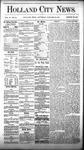 Holland City News, Volume 6, Number 48: January 12, 1878