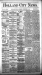Holland City News, Volume 6, Number 51: February 2, 1878