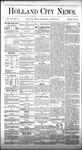 Holland City News, Volume 7, Number 19: June 22, 1878