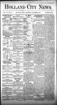 Holland City News, Volume 7, Number 39: November 9, 1878 by Holland City News