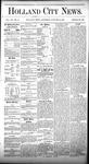 Holland City News, Volume 7, Number 48: January 11, 1879
