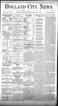 Holland City News, Volume 7, Number 50: January 25, 1879