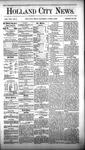 Holland City News, Volume 8, Number 8: April 5, 1879