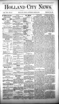 Holland City News, Volume 8, Number 12: May 3, 1879