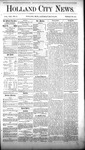 Holland City News, Volume 8, Number 13: May 10, 1879