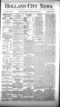 Holland City News, Volume 8, Number 16: May 31, 1879