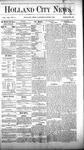 Holland City News, Volume 8, Number 17: June 7, 1879