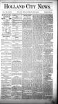 Holland City News, Volume 8, Number 20: June 28, 1879