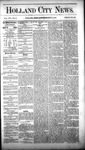 Holland City News, Volume 8, Number 21: July 5, 1879