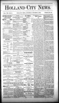 Holland City News, Volume 8, Number 37: October 25, 1879 by Holland City News