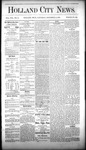 Holland City News, Volume 8, Number 44: December 13, 1879 by Holland City News