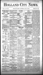 Holland City News, Volume 9, Number 22: July 10, 1880 by Holland City News