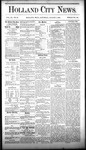 Holland City News, Volume 9, Number 26: August 7, 1880 by Holland City News