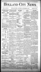Holland City News, Volume 9, Number 33: September 25, 1880 by Holland City News