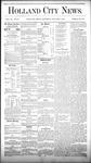 Holland City News, Volume 9, Number 47: January 1, 1881