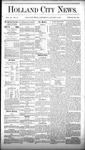 Holland City News, Volume 9, Number 48: January 8, 1881