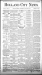 Holland City News, Volume 9, Number 49: January 15, 1881