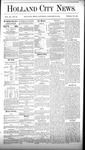 Holland City News, Volume 9, Number 50: January 22, 1881