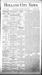 Holland City News, Volume 9, Number 51: January 29, 1881