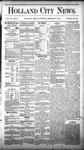 Holland City News, Volume 9, Number 52: February 5, 1881