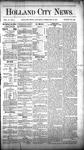 Holland City News, Volume 10, Number 1: February 12, 1881