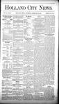 Holland City News, Volume 10, Number 2: February 19, 1881