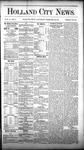 Holland City News, Volume 10, Number 3: February 26, 1881