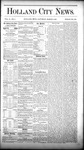 Holland City News, Volume 10, Number 4: March 5, 1881