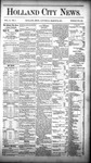 Holland City News, Volume 10, Number 7: March 26, 1881