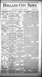 Holland City News, Volume 10, Number 9: April 9, 1881