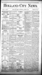 Holland City News, Volume 10, Number 10: April 16, 1881
