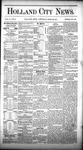 Holland City News, Volume 10, Number 11: April 23, 1881