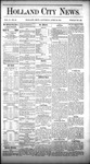 Holland City News, Volume 10, Number 12: April 30, 1881