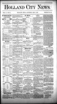 Holland City News, Volume 10, Number 13: May 7, 1881