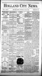 Holland City News, Volume 10, Number 23: July 16, 1881