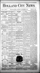 Holland City News, Volume 10, Number 30: September 3, 1881 by Holland City News