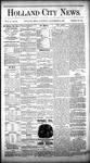 Holland City News, Volume 10, Number 33: September 24,1881 by Holland City News