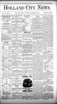 Holland City News, Volume 10, Number 34: October 1, 1881