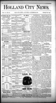 Holland City News, Volume 10, Number 38: October 29, 1881 by Holland City News