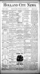 Holland City News, Volume 10, Number 39: November 5, 1881 by Holland City News